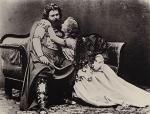 Fotografía de Ludwig Schnorr von Carolsfeld y Malvina Garrigues, tomada por Joseph Albert.
