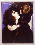 """""""Liam and Noel, Loch Lomond"""" (1997, óleo sobre lienzo, 101.6 x 76.20 cm, Colección Museo de Arte Moderno, de Nueva York, John Caldwell, Curadorde Pintura y Escultura, 1989-93, Fondo para la compra de arte contemporáneo; © Elizabeth Peyton), de Elizabeth Peyton. Retrato de Liam y Noel Gallagher, de la banda """"Oasis""""."""