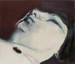 """""""Jen"""" (2005, óleo sobre lienzo, 110.16 x 130.17 cm, Museo de Arte Moderno, de Nueva York, promesa de donación de Marie-José y Henry R. Kravis. © 2008 Marlene Dumas), de Marlene Dumas."""
